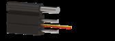 Дроп-кабель оптический ОКДБ-2М-М