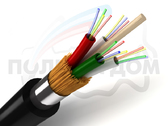 Оптический кабель для прокладки в защитных пластмассовых трубах ОККТМ-*(2,7)