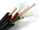 Подвесной диэлектрический оптический кабель ОКСНМ-*(4,0)