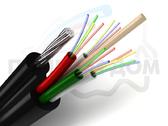 Подвесной оптический кабель ОКСНМ-*(7,5)